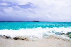 约翰尼岩礁-圣安德烈斯-哥伦比亚 免版税库存照片
