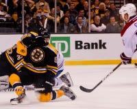约翰尼Boychuk防守队员,波士顿熊 免版税库存图片