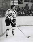 约翰尼Bucyk,波士顿熊 免版税库存照片