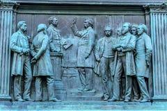 约翰摇石南北战争纪念摇石将军圈子华盛顿特区 免版税库存照片