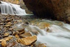 约翰斯顿峡谷 免版税库存照片