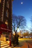 约翰杰夫里斯家的信标岗,波士顿 图库摄影