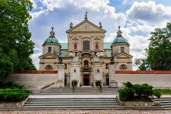 约翰浸礼会教友, Poswietne,波兰修道院  免版税库存照片