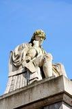 约翰逊博士雕象,利奇菲尔德 免版税图库摄影