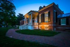 约翰霍普金斯大学的Homewood博物馆,在巴尔的摩, M 库存图片