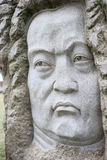 约翰・塞巴斯蒂安Bach雕象  免版税库存图片