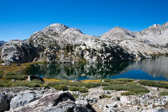 约翰・缪尔足迹的Evolution湖 免版税图库摄影