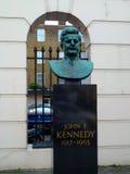 约翰・肯尼迪的纪念碑 免版税库存图片