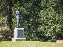 约翰C彭伯顿南北战争纪念碑 免版税库存图片