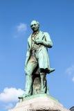 约翰Cockerill雕象在布鲁塞尔 免版税库存图片