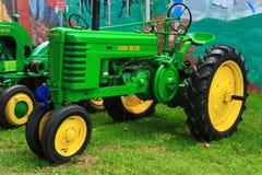 约翰Deere农用拖拉机 库存图片