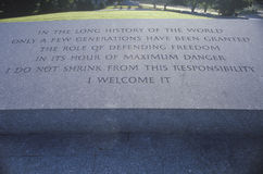 约翰F坟茔  肯尼迪,阿灵顿公墓,华盛顿D C 库存图片