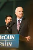 约翰mccain参议员垂直 免版税库存图片