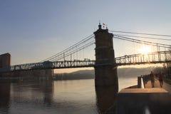 约翰Robeling桥梁 库存图片