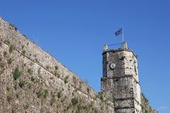 约阿尼纳堡垒钟楼 免版税图库摄影