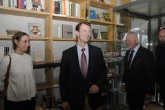 约阿希姆ARRIVES AT DAC王子 免版税库存图片