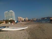 贝约Horizonte海湾 免版税库存照片