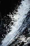 级联飞溅水 免版税库存照片