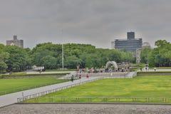 纪念公园在suumer的,日本广岛 图库摄影