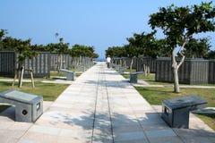 纪念冲绳岛公园和平 图库摄影