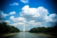 纪念华盛顿 库存图片