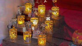 纪念品和礼品店在萨尔茨堡,奥地利 库存照片
