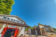 纪念品商店在老镇SD 库存照片