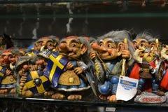 纪念品在商店,斯德哥尔摩 库存照片