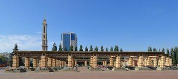 纪念品在胜利公园,喀山 免版税图库摄影