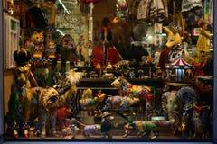纪念品在巴塞罗那 库存照片