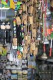 纪念品在贾法角耶路撒冷旧城 库存图片