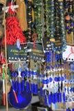 纪念品在贾法角耶路撒冷旧城 库存照片