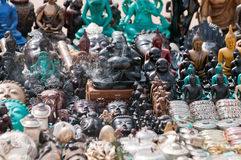 纪念品市场 免版税库存照片