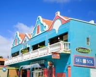 纪念品店在博内尔岛 免版税库存图片