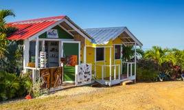 纪念品店在多米尼加共和国 免版税库存照片