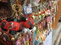 纪念品店在日本, Sensoji寺庙 免版税库存照片