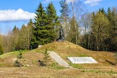纪念品排行Bornitskaya防御范围 库存图片