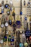 纪念品的各种各样的类型在土耳其 库存照片