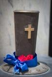纪念品的坟边圣杯 库存图片