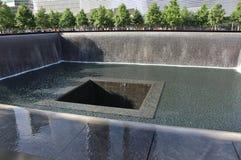 9/11纪念品,纽约 免版税图库摄影