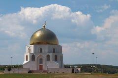 以纪念回教`的采用的大厦`难忘的标志 Bulgar,俄罗斯 库存照片