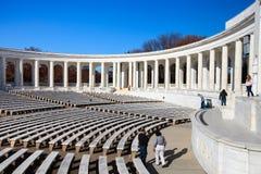 纪念圆形剧场阿灵顿国家公墓 库存照片