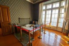 纪念堂卧室窗口  免版税库存图片