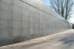 纪念墙壁 免版税库存图片