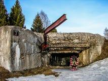 纪念复合体和博物馆Ilyinskaya边境在卡卢加州地区在俄罗斯 免版税库存图片