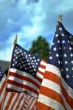 纪念旗子 库存图片