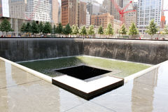 纪念池纽约 库存照片