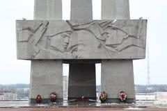纪念热忱对第二次世界大战,白俄罗斯 库存照片