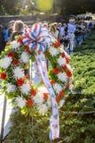 纪念的退役军人 免版税库存照片