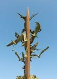 纪念碑乔纳森利文斯通- S Bendetto del Tronto - IT 免版税库存图片